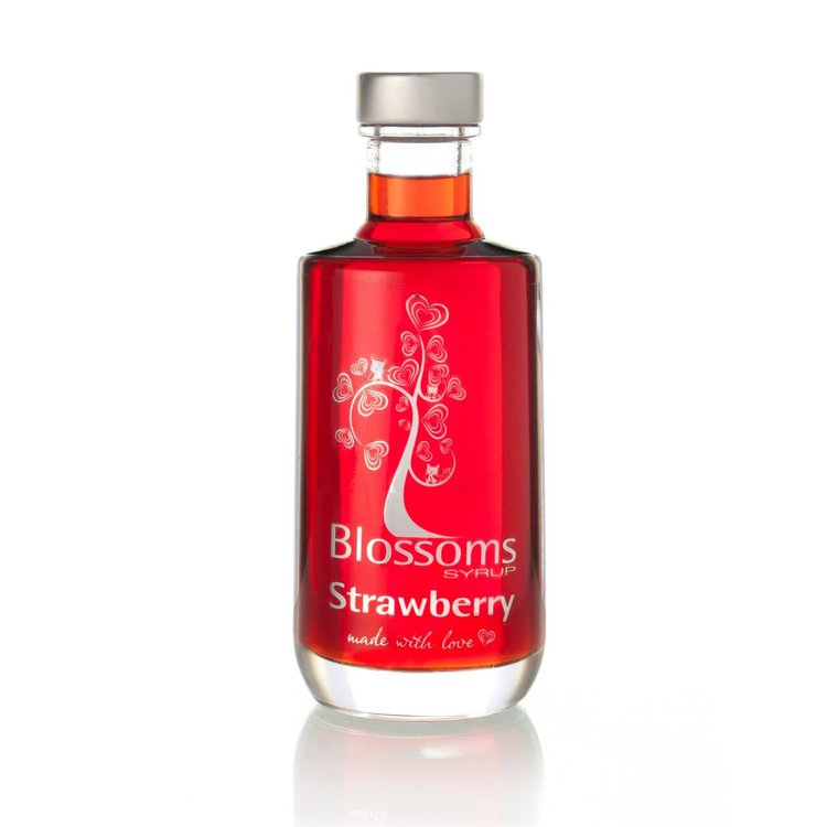 Strawberry Fruit Syrup 100ml (For Desserts, Cocktails, Prosecco, Soft Drinks)