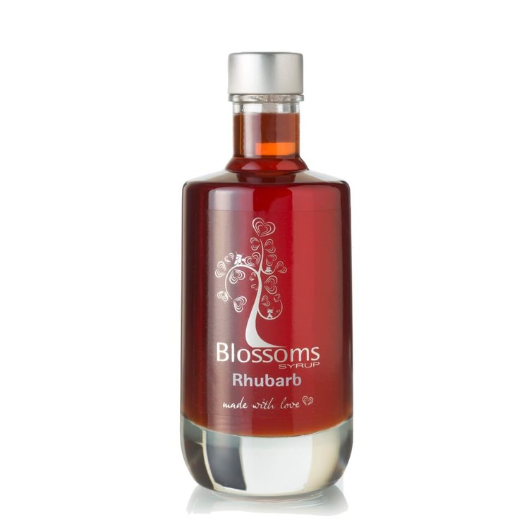 Rhubarb Syrup 100ml (For Desserts, Cocktails, Prosecco, Soft Drinks)