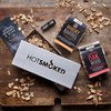 Smoke, Whisky & Wine BBQ Wood Smoking Chip Kit by Hot Smoked with Smoker Box & Whisky Smoking Chips