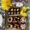 Easter Brownie & Doughnut Gift Box with Bronuts & Chocolate Egg Brownies by Norah's Brownies 700g