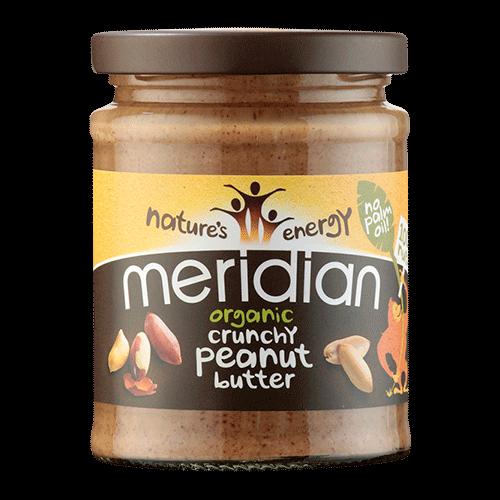 Organic Crunchy Peanut Butter 280g
