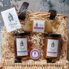 Scottish Heather & Juniper Hamper with Soap & Lip Balm by The Travelling Bee Company