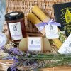 Provence Lavender Honey Gift Set with Soap, Lip Balm & Candle by The Travelling Bee Company
