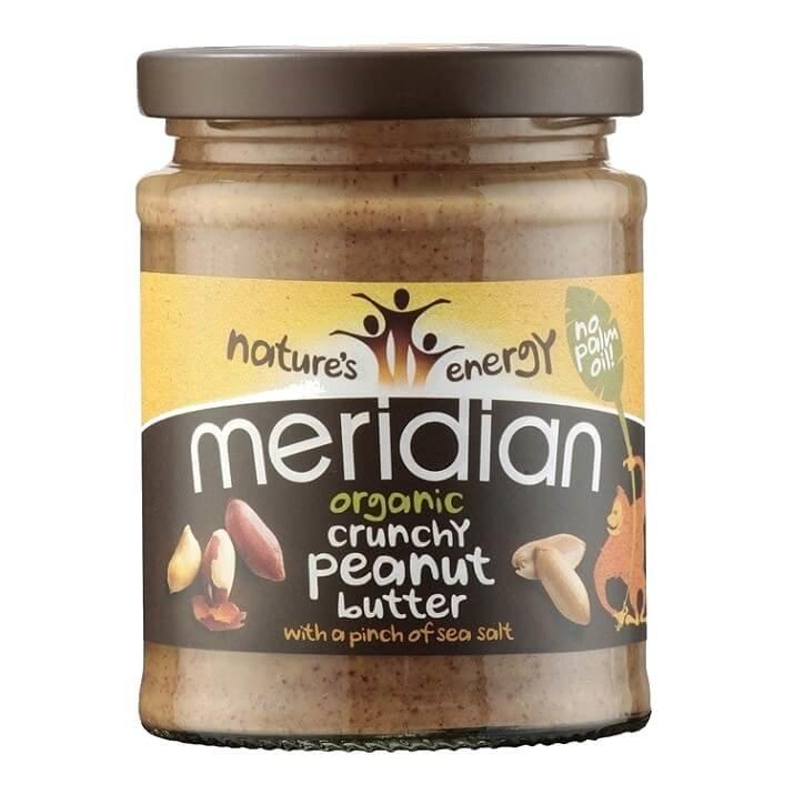 Organic Crunchy Peanut Butter with Salt 280g