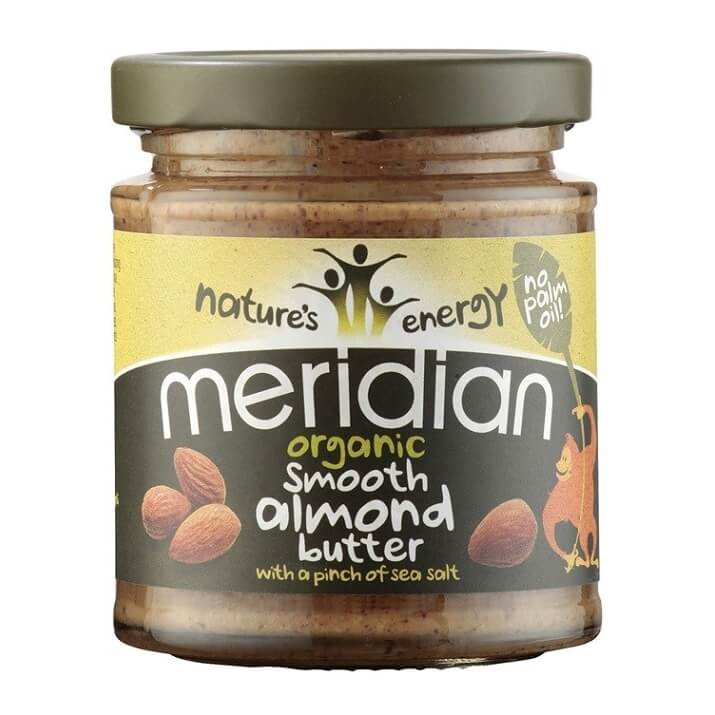 Organic Smooth Almond Butter with Salt 170g