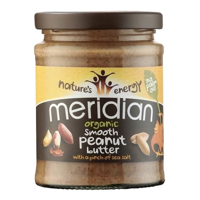 Organic Smooth Peanut Butter with Salt 280g