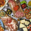 'L'Aperidinner' Medium Italian Cheese & Charcuterie Box with Focaccia & Chutney by L'incontro