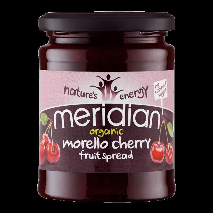 Organic Morello Cherry Fruit Spread (No Added Sugar) 284g