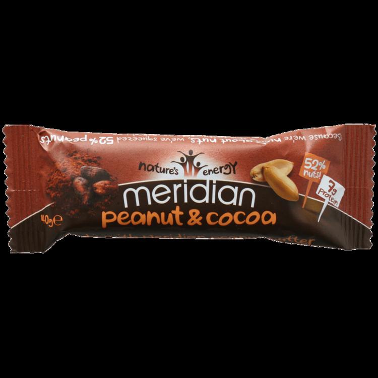 Gluten-Free Peanut & Cocoa Bar 18 x 40g