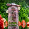 Strawberry & Pink Peppercorn Gin by Tipsy Food Co. 50cl 40% ABV - Pink Gin