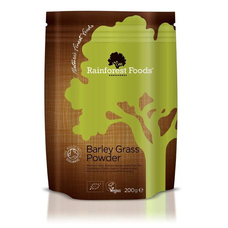 Organic New Zealand Barley Grass Powder 200g