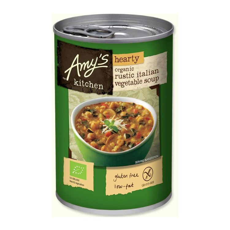 Organic Hearty Rustic Italian Vegetable Soup 397g