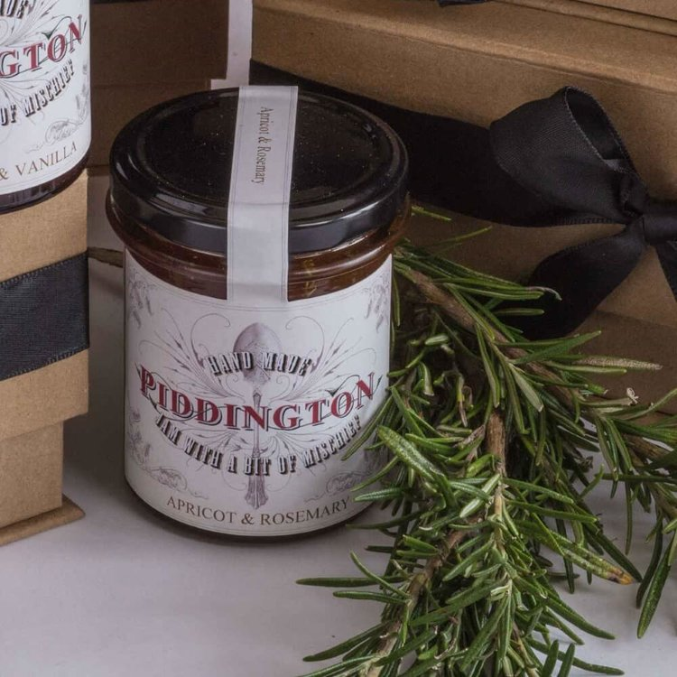 Apricot and Rosemary Jam 220g