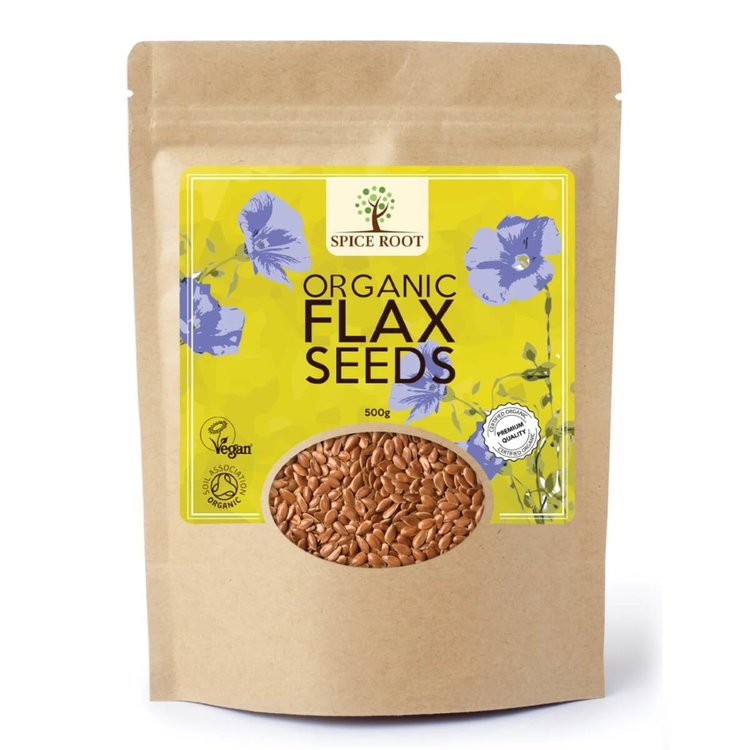Organic Flax Seeds 500g