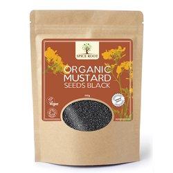 Organic Mustard Seeds Black 100g
