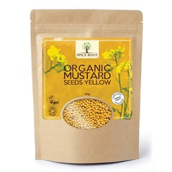 Organic Mustard Seeds Yellow 100g