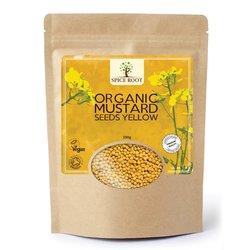 Organic Mustard Seeds Yellow 250g