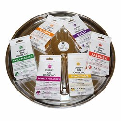 The Curry Lovers Gift Pack (Inc. 6 Curry Kits with Recipes)