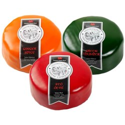 Red Devil, Ginger Spice, Green Thunder Snowdonia Cheese Trio 3 x 200g