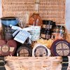 Ultimate Godminster Cheese & Apple Juice Hamper with Organic Cheese, Nuts & Chutney