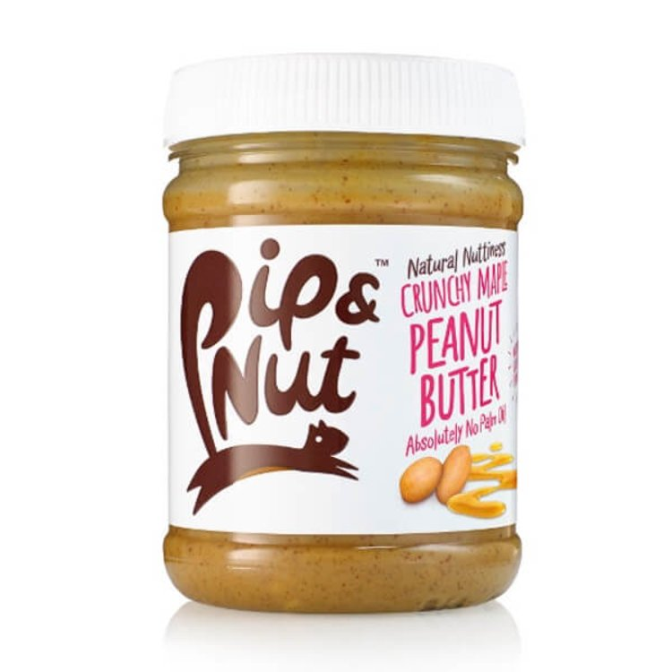 Crunchy Maple Peanut Butter 225g by Pip & Nut