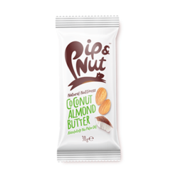 Coconut Almond Butter Squeeze Pack 5 x 30g By Pip & Nut (With Agave Syrup)