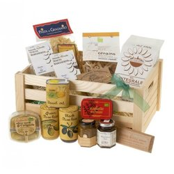 'La Vegana' Italian Vegan Gift Hamper with Pasta, Rice, Risotto, Chocolate & More