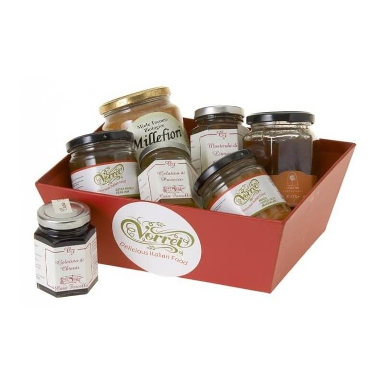 Seven Sumptuous Italian Spreads and Cheese Accompaniments Gift Set