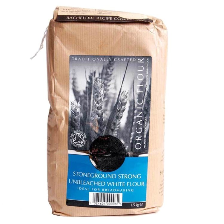 Stoneground Strong Unbleached White Flour 1.5kg