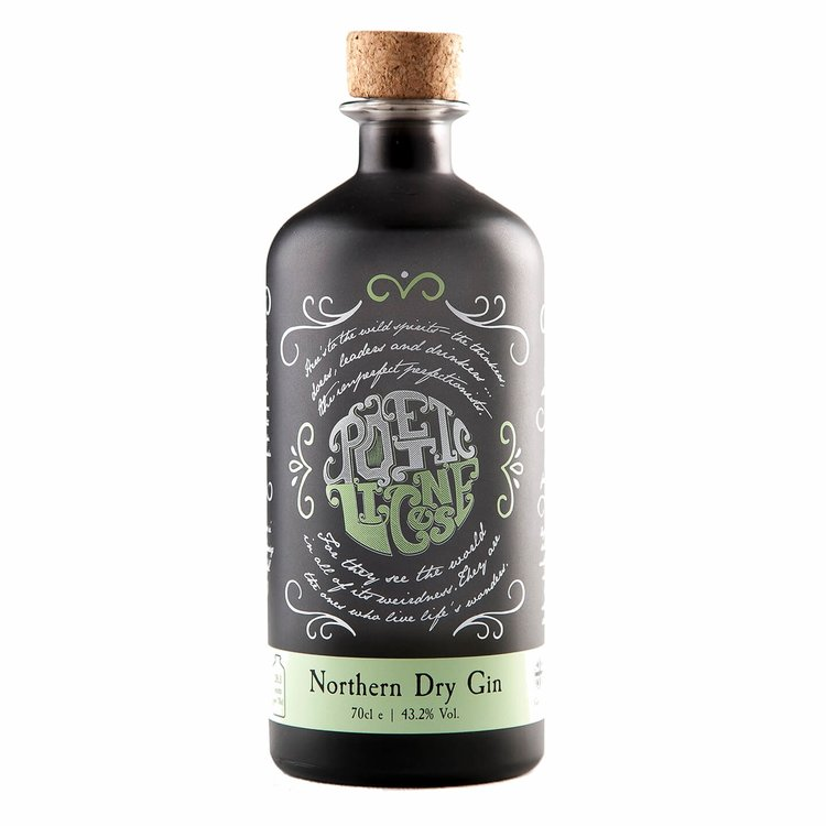 'Northern Dry' British Gin with Botanicals 70cl
