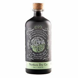 'Northern Dry' British Gin with Botanicals 70cl