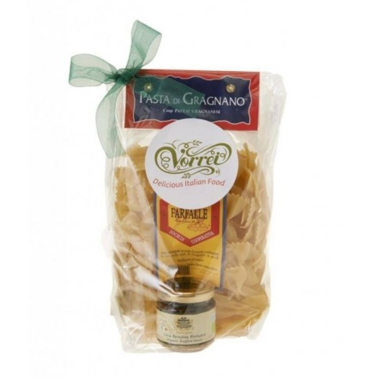 Farfalle Pasta with Creamy Truffle Sauce Gift Pack