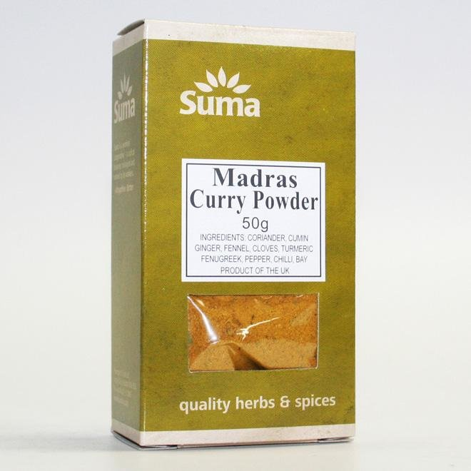 Madras Curry Powder 50g