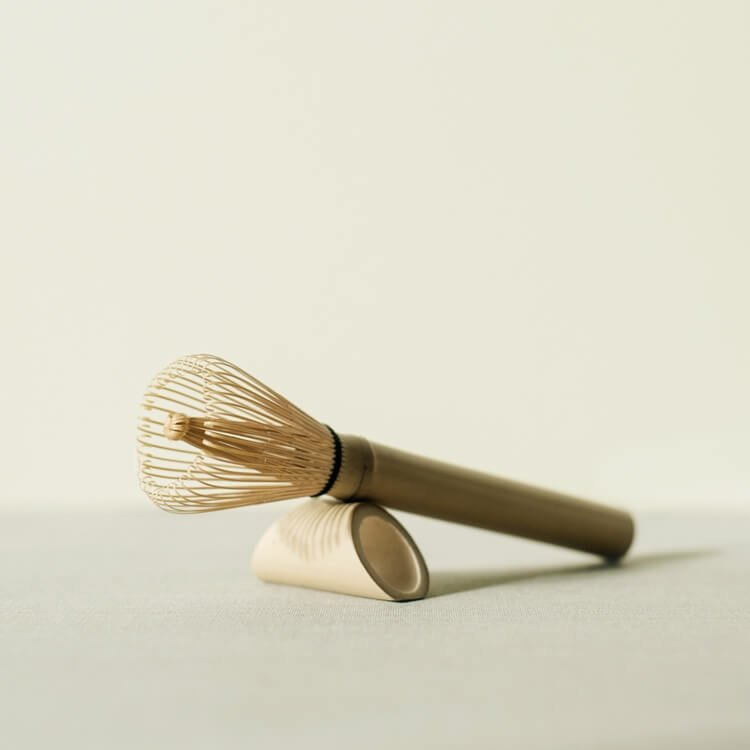 Full-Length Handmade Matcha Whisk ('Chasen') with Bamboo