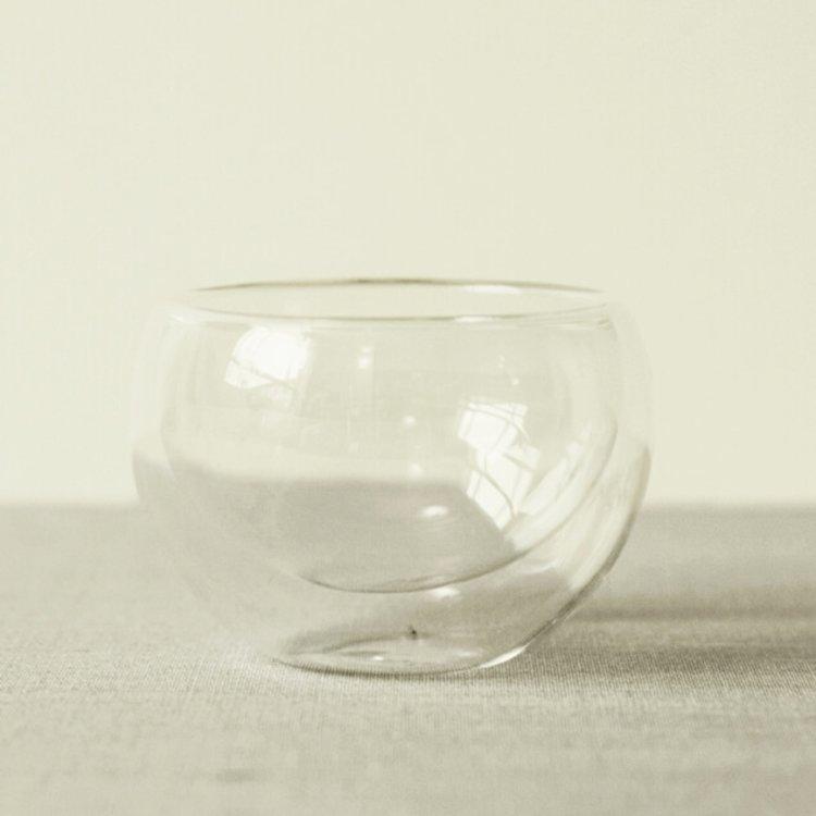 Handmade Cloud Glass Matcha Bowl 'Chawan'