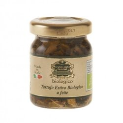 Organic Summer Truffle Slices in Extra Virgin Olive Oil 50g