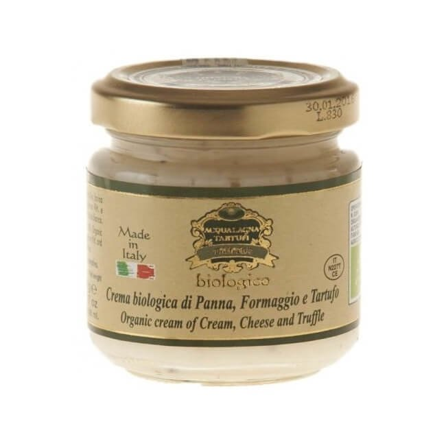 Organic Cream, Cheese & Black Truffle Sauce 90g