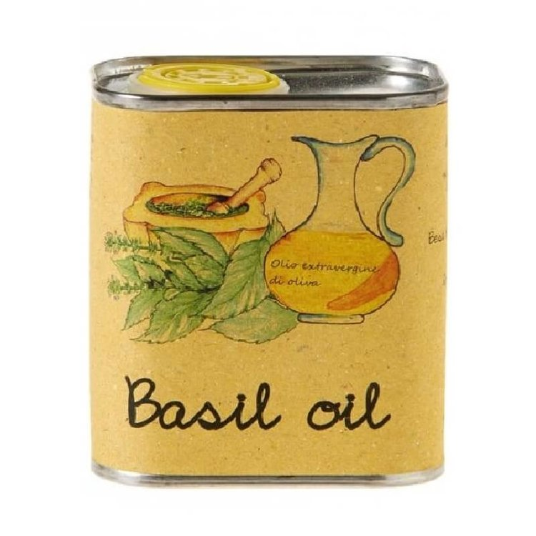 Basil Infused Extra Virgin Olive Oil 175ml