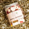Merry Christmas Festive Treats by Ask Mummy & Daddy 410g with Marshmellows & Candy Canes - Christmas Sweets Gift