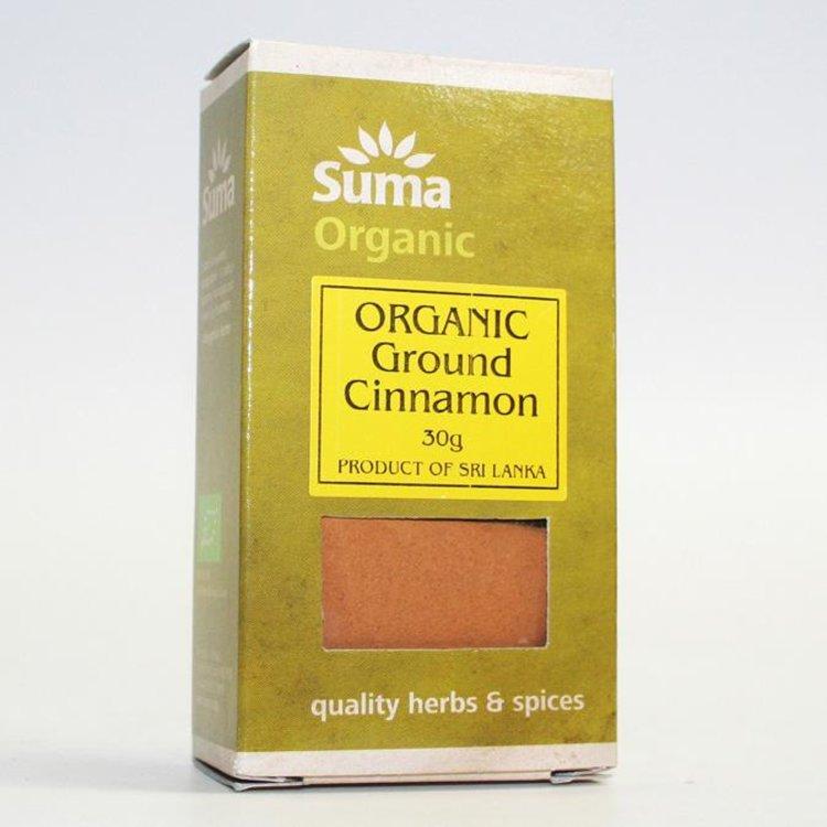 Organic Ground Cinnamon 30g