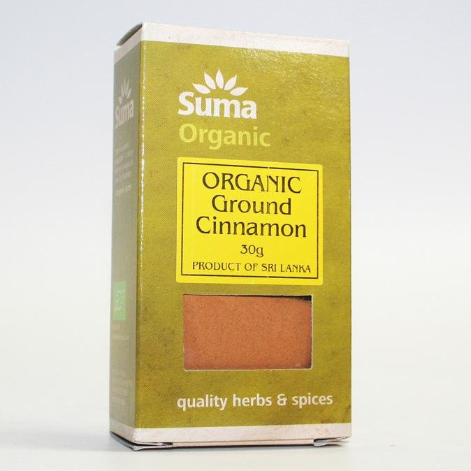 Organic Ground Cinnamon 30g