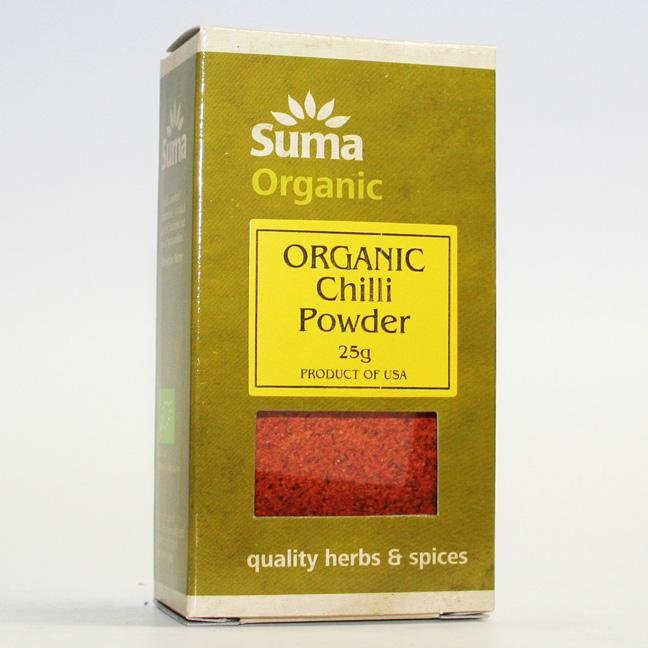 Organic Chilli Powder 25g