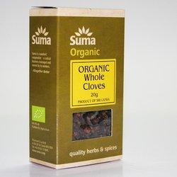 Organic Whole Cloves 20g