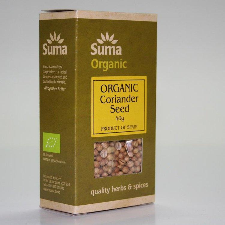 Organic Coriander Seeds 40g
