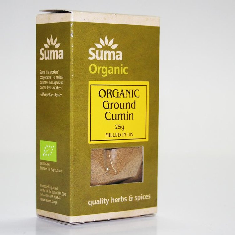 Organic Ground Cumin 25g