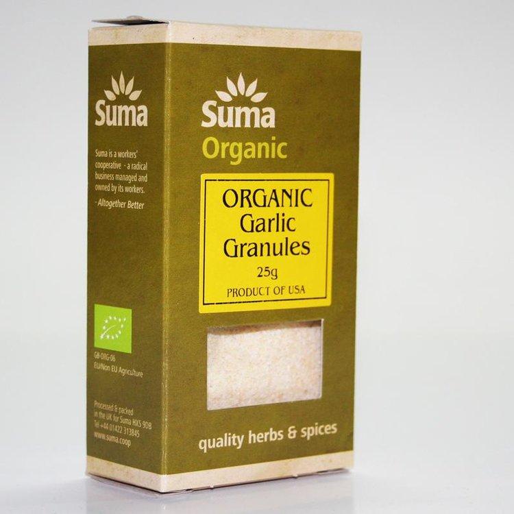 Organic Garlic Granules 25g
