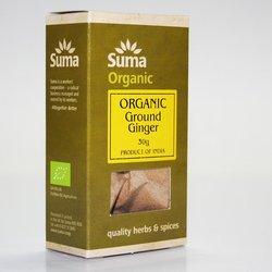 Organic Ground Ginger 30g