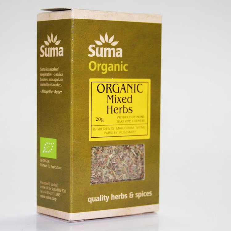 Organic Mixed Herbs 20g