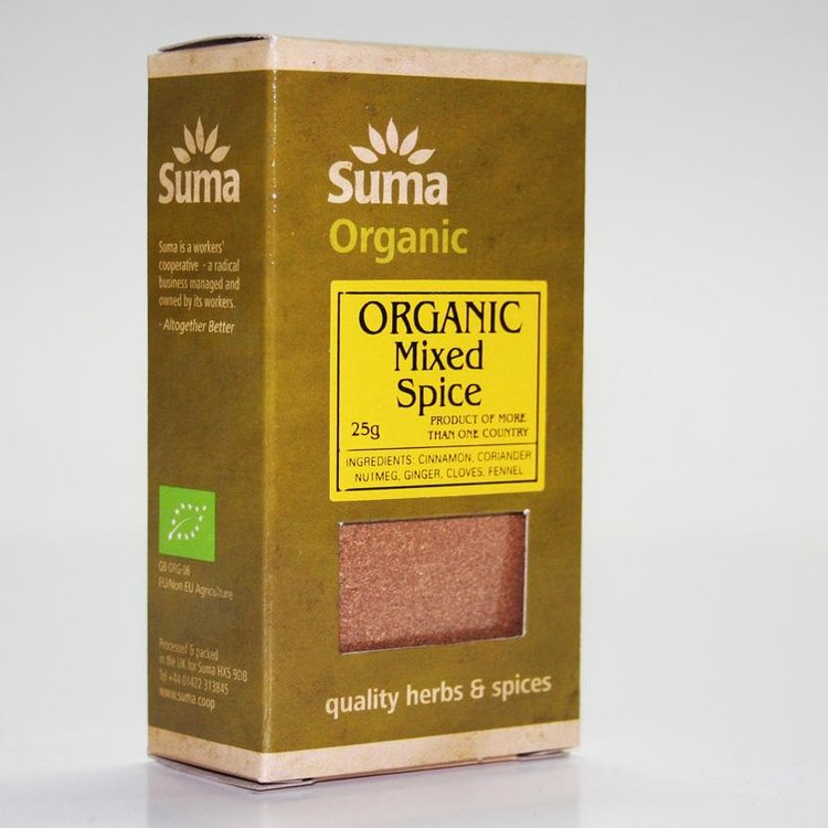 Organic Mixed Spice 25g