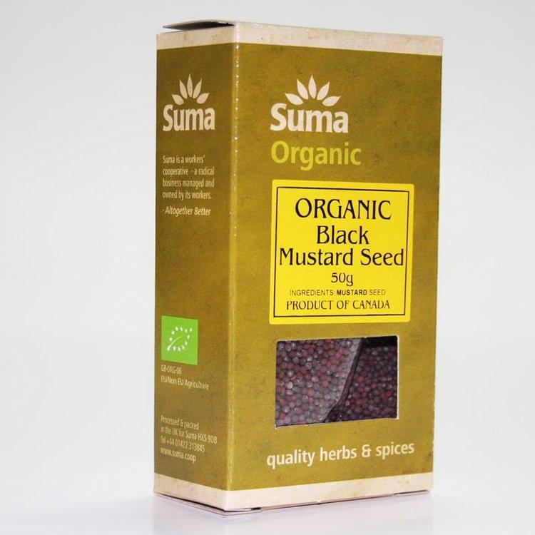 Organic Black Mustard Seeds 50g